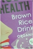 Rude Health Brown Rice Drink 1ltr O/G G/F