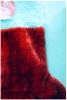Christmas Stocking - Red With White Trim