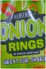 Heritage Snacks Onion Rings XL