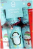 Giftmaker Crackers Penguin & Snowman x 9 Small