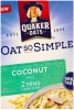 Quaker Oat So Simple Coconut x 10 Sachets