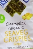 Clearspring Seaweed Crispies Ginger