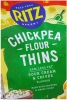 Ritz Chick Pea Thins Sour Cream & Chive 100g